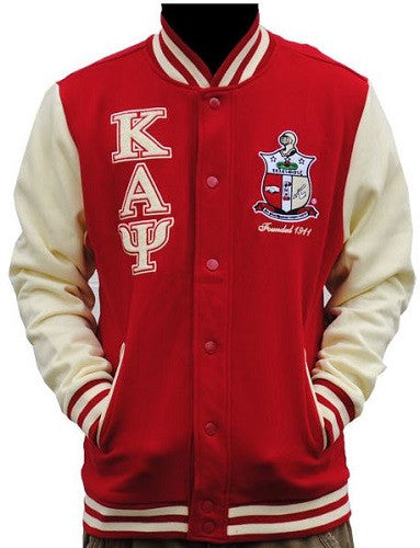 Kappa Alpha Psi jacket - fleece with wreath crest