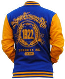 Sigma Gamma Rho jacket - fleece style - GFJKB