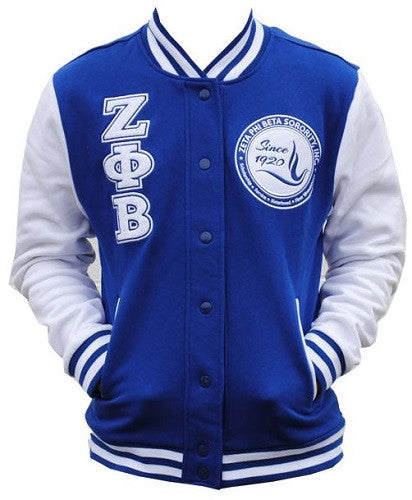 Zeta Phi Beta jacket - fleece with dove on back