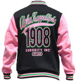 Alpha Kappa Alpha jacket - fleece - black