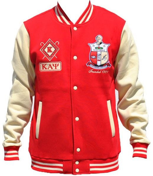 Kappa Alpha Psi jacket - fleece with diamond