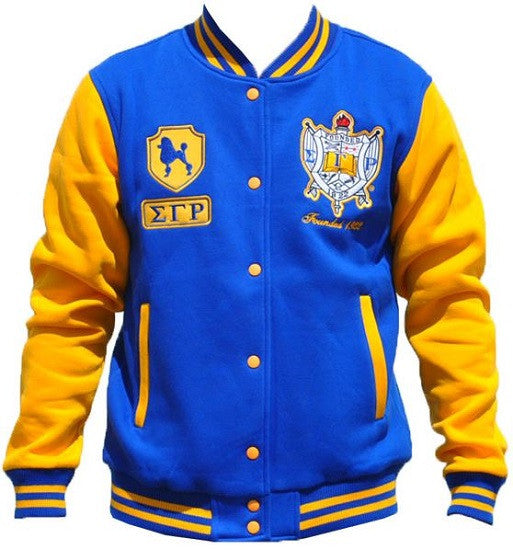 Sigma Gamma Rho jacket - fleece style - GFJKC