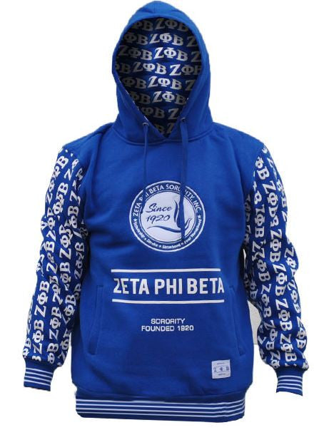 Zeta Phi Beta jacket - hoodie with 1920 - GHB
