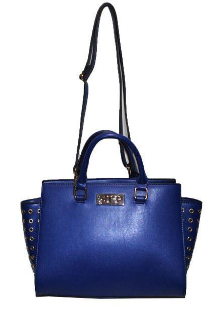 Sigma Gamma Rho handbag - leather - blue