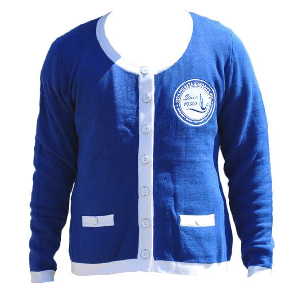 Zeta Phi Beta sweater - blue
