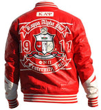 Kappa Alpha Psi jacket - faux leather