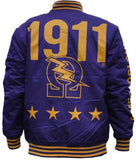 Omega Psi Phi jacket - lightweight purple - GLWJA