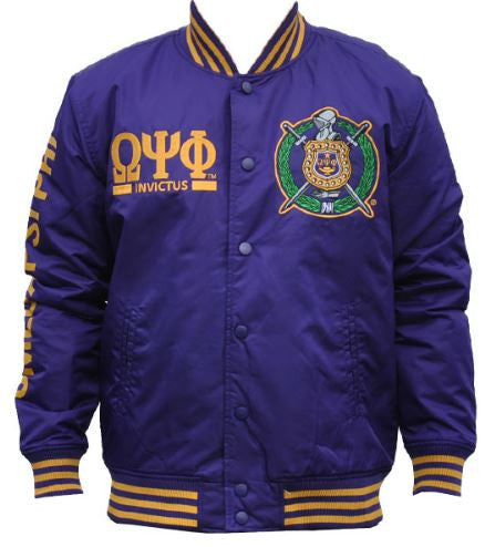 Omega Psi Phi Jacket Lightweight Purple Glwja It S A