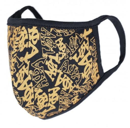Alpha Phi Alpha Face Mask - black