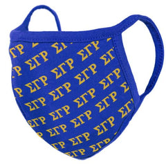 Sigma Gamma Rho - face mask