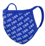 Zeta Phi Beta - face mask