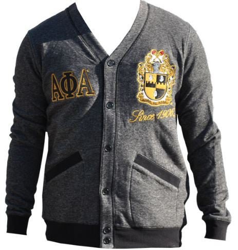 Alpha Phi Alpha sweater - lightweight cardigan