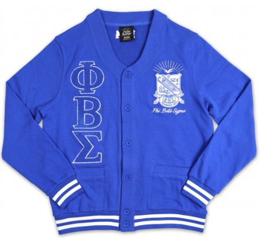 Phi Beta Sigma sweater - cardigan - GMCD
