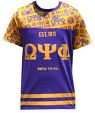 Omega Psi Phi t-shirt - all-over design