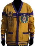 Omega Psi Phi sweater - gold