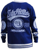Zeta Phi Beta sweater - blue front - founded date on back