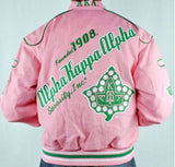 Alpha Kappa Alpha jacket - pink racing