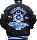 Phi Beta Sigma jacket - centennial - black