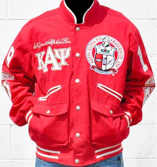 Kappa Alpha Psi jacket - cotton - GTJG