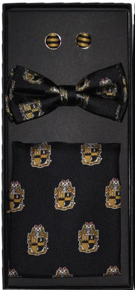 Alpha Phi Alpha bow tie - cuff links set