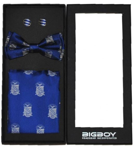 Phi Beta Sigma bow tie - cuff links set - GTSB