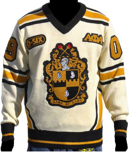 Alpha Phi Alpha sweater - V-neck Ice Cold