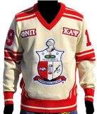 Kappa Alpha Psi sweater - v-neck style - GVSA