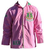 Alpha Kappa Alpha jacket - windbreaker - pink