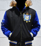 Sigma Gamma Rho - wool jacket with detachable hood