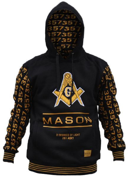 Mason jacket - hoodie with 357