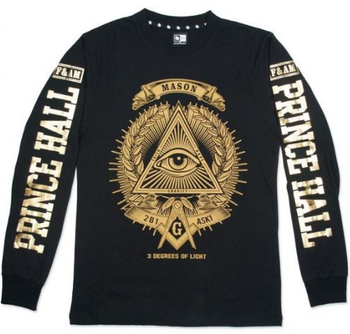 Prince Hall long sleeve - t-shirt
