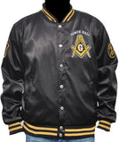 Prince Hall Mason jacket - satin style