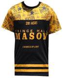 Prince Hall Mason t-shirt - all-over design - MSJTA