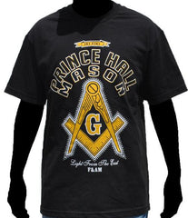Prince Hall Mason t-shirt - square and compass