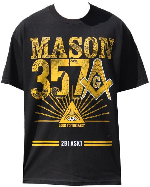 Mason t-shirt - with 357 and 2B1ASK1