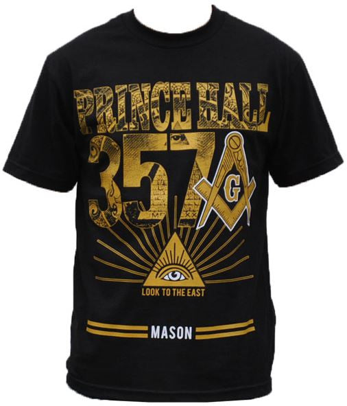 Prince Hall t-shirt - with 357 and image