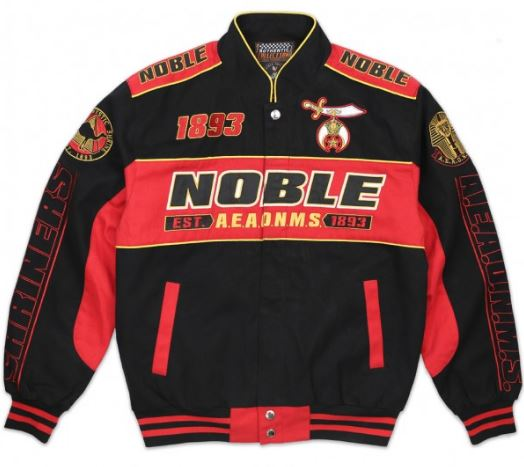 Shriners jacket -  racing style - MTJG