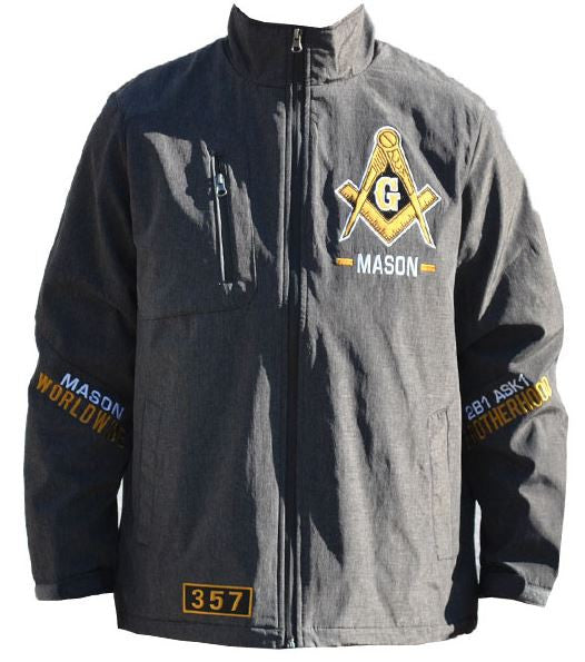 Mason jacket - windbreaker with 3 Degrees - MWBC