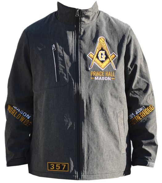 Prince Hall Mason jacket - windbreaker - MWBC