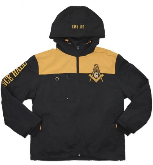 Prince Hall Mason jacket - windbreaker - MWBD