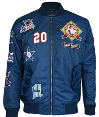 Negro Leagues baseball jacket - bomber - NBJA