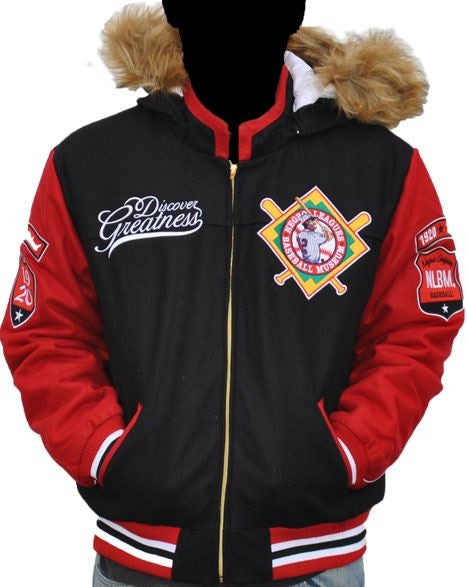 Negro League Baseball female jacket