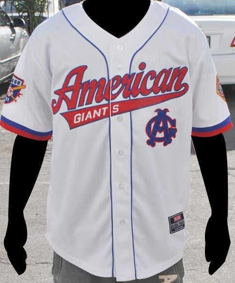 Negro Leagues Baseball jersey - Chicago American Giants