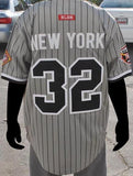 New York Black Yankees - Negro League jersey - gray