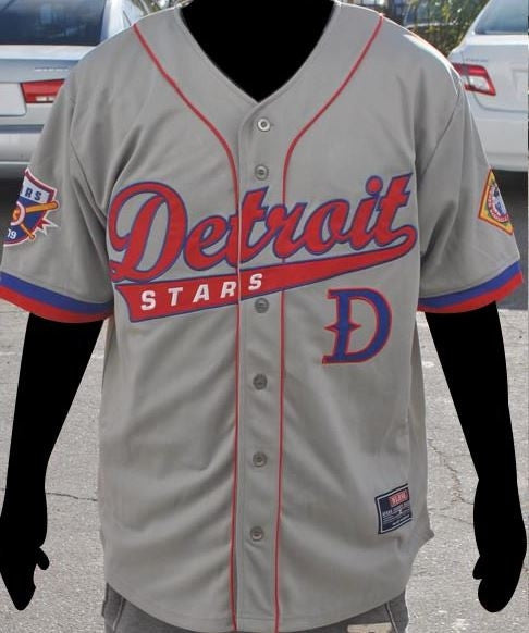 Detroit Stars - Negro League Baseball jersey