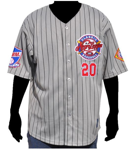 Negro Leagues Baseball jersey - commemorative - grey
