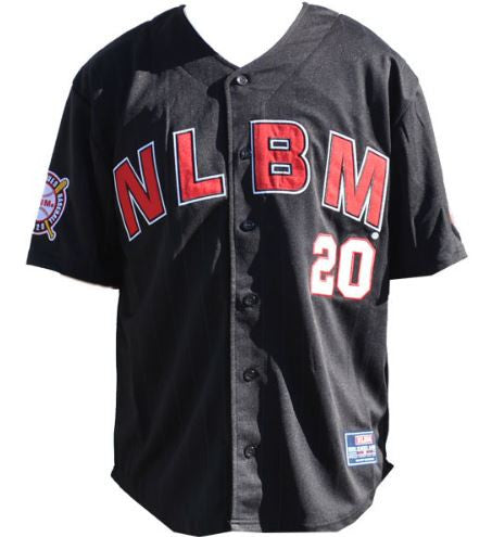 Negro League jersey - black - NJER6