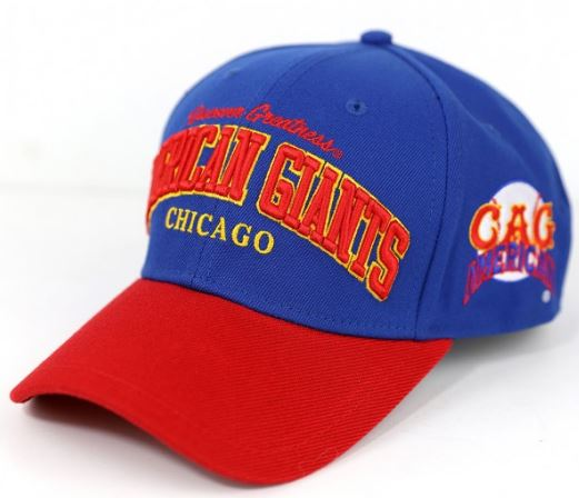 Chicago American Giants - Negro Leagues legends cap