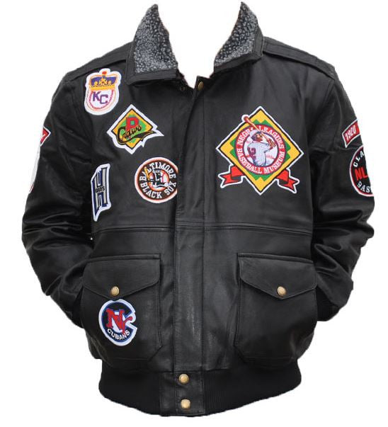 Negro League Baseball - leather jacket - NLJC