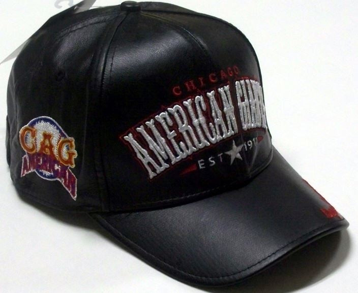 Chicago American Giants - Negro League leather cap